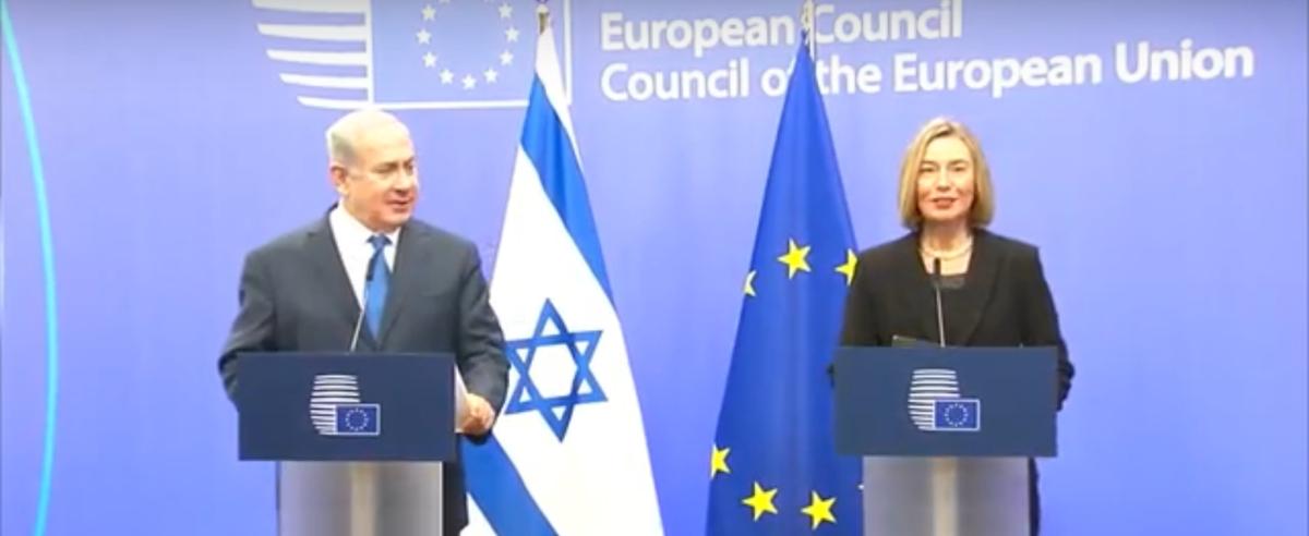 Verklaringen Mogherini en Netanyahu bij diens bezoek aan de EU